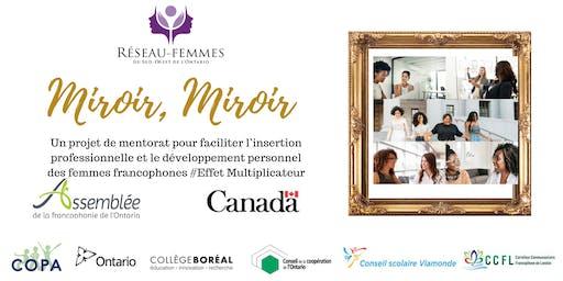 Lancement Miroir, Miroir - London - Launch !