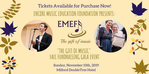 The Gift of Music Fall Fundraising Gala