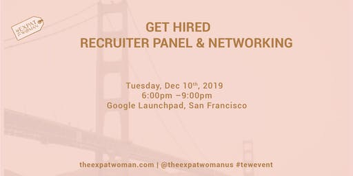 Get Hired! Recruiter Panel and Networking