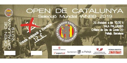 Open de Catalunya de Físic-culturisme i Fitness 2019