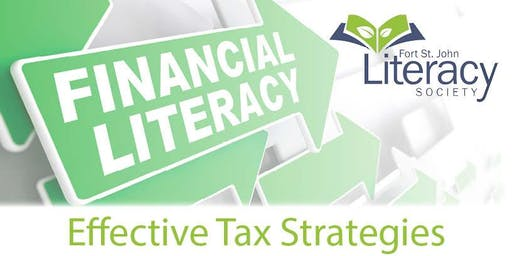 Financial Literacy - Effective Tax Strategies