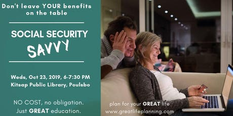 Social Security Savvy: Poulsbo tickets