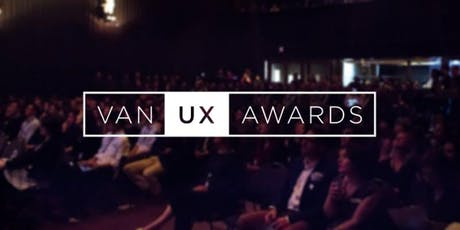 Vancouver UX Awards tickets