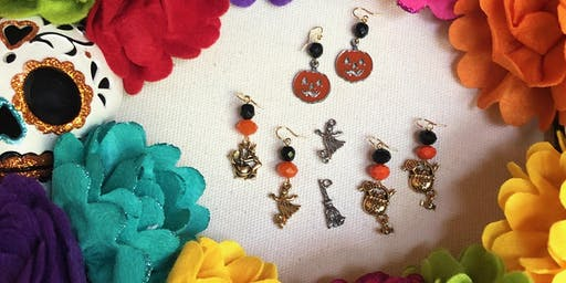 Project Workshop: Halloween and Day of the Dead Earrings
