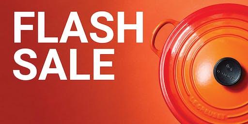 Le Creuset Flash Sale