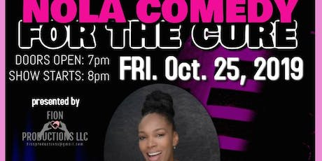BRAND AMBASSADORS for NOLA Comedy for the Cure starring Algiers Diamond tickets