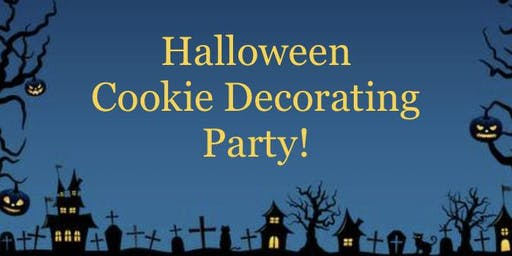 Halloween Cookies Decorating Party