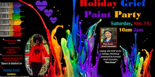 Holiday Grief Paint Party