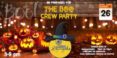 The Boo Crew Party CARACAS entradas