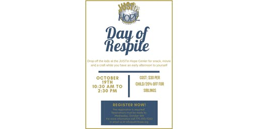 Day of Respite at JUSTin Hope