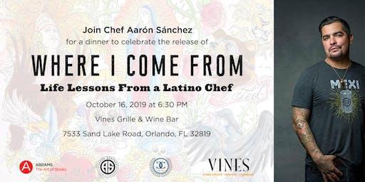 Chef Aarón Sánchez Takes Orlando