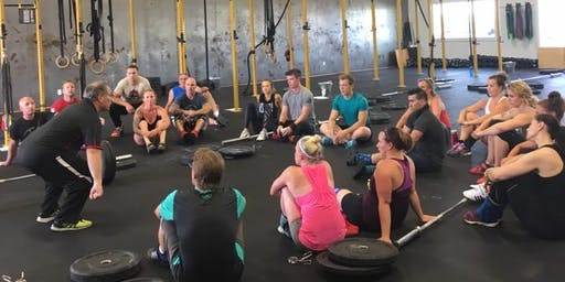 The Fort Cohen Olympic Weightlifting Seminar