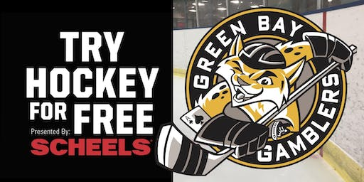 Try Hockey for Free with The Green Bay Gamblers - October 13th, 2019