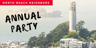 North Beach Neighbors Annual Party