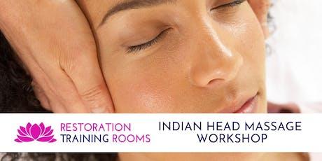Indian Head Massage Workshop tickets