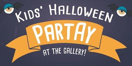 Kids Halloween PARTAY at AGSA! tickets