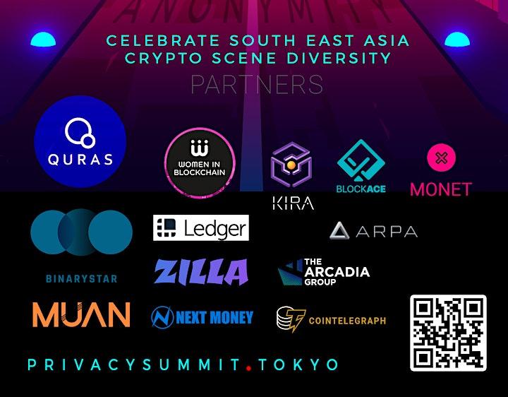 Tokyo Privacy 2.0  Blockchain Summit   Sun 13th - Mon 14th image