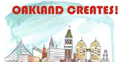 Oakland Creates Comics, Art and Zine Fest 2019 Zine Workshop