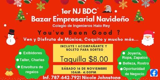 1er  NJ BDC Bazar Empresarial Navideño