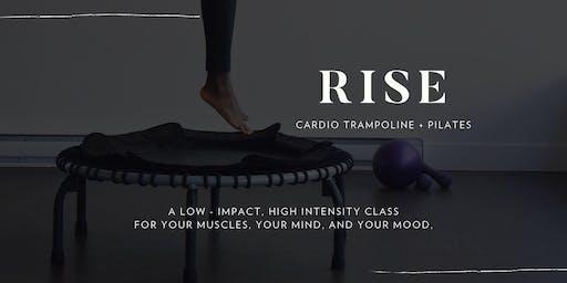 RISE - Cardio Trampoline + Pilates Class