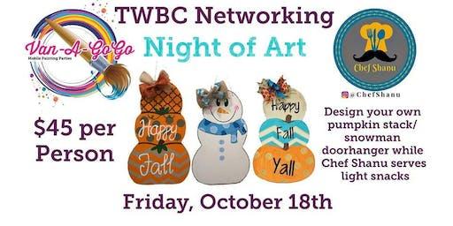 TWBC Networking Event Night of Art