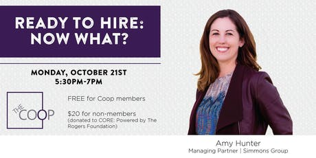 Ready to Hire: Now What? tickets