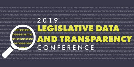 Legislative Data and Transparency Conference tickets