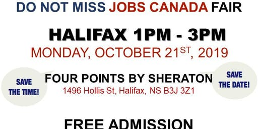 Halifax Job Fair – October 21st, 2019