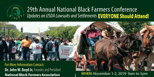 29th National Black Farmers Association Conference - Let's Get Growing