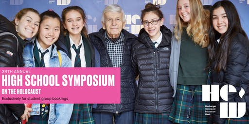High School Student Symposium on the Holocaust
