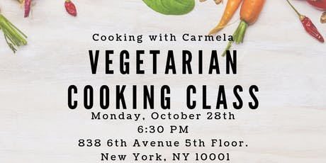 Vegetarian Cooking Class tickets