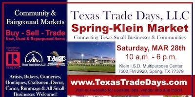 Spring-Klein Market: Texas Trade Days