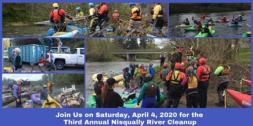 Nisqually River Cleanup 2020