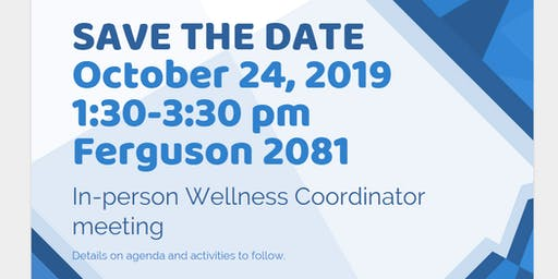 Wellness Coordinator meeting