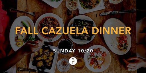 Fall Cazuela Dinner