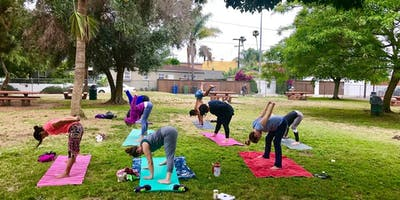 To Be Human Yoga in Reynier Park (Thursday)