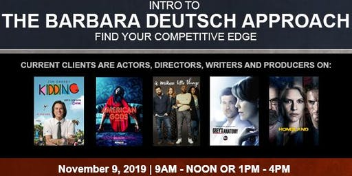 Intro To THE BARBARA DEUTSCH APPROACH - Find YOUR COMPETITIVE EDGE