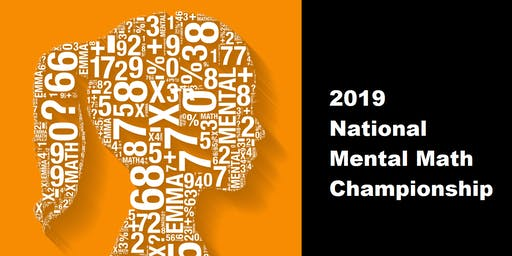 2019 National Mental Math Championship - In Montreal