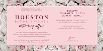 Houston Business Women Second Annual Networking Event