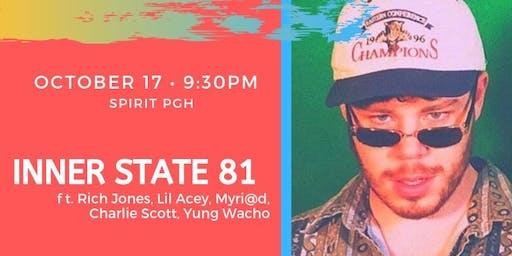 Inner State 81 Live at Spirit w/ Rich Jones and Charlie Scott