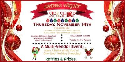 Ladies Night Sip & Shop!!