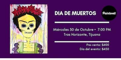 Paintwell, Día de muertos (Frida) @Tras Horizonte