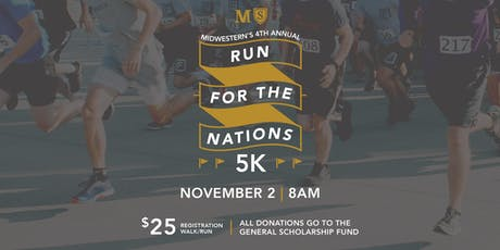 """Event Sponsorship Registration (""""Run for the Nations"""" 5K) tickets"""
