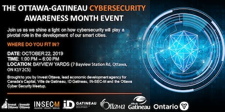 Ottawa-Gatineau Cybersecurity Awareness Month Event tickets