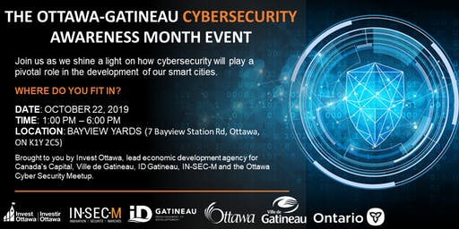 Ottawa-Gatineau Cybersecurity Awareness Month Event