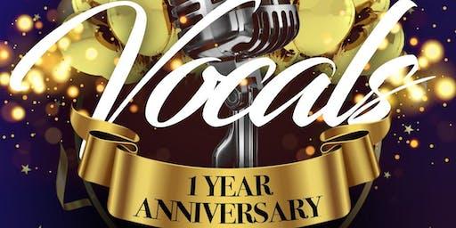 Vocals 1st Anniversary Show