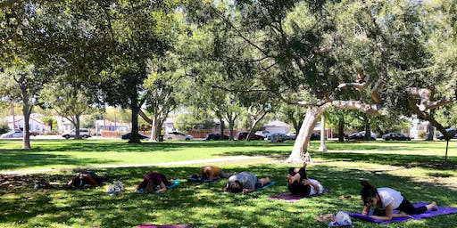 To Be Human Yoga in Carlson Park (Saturday)