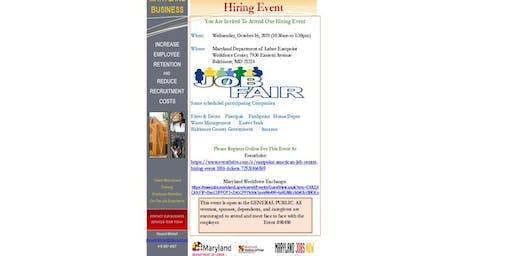 Eastpoint American Job Center Hiring Event