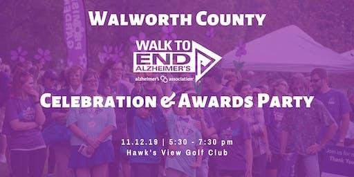 Walk to End Alz Walworth | Celebration Party
