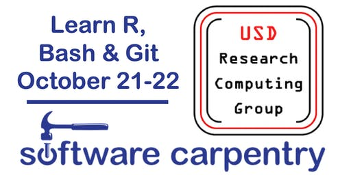 Software Carpentry Workshop at USD